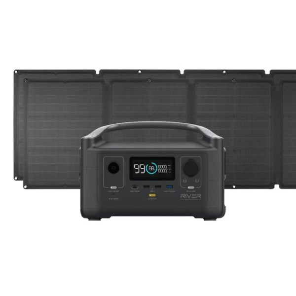 RIVER 600 And 110W Solar Panel Bundle