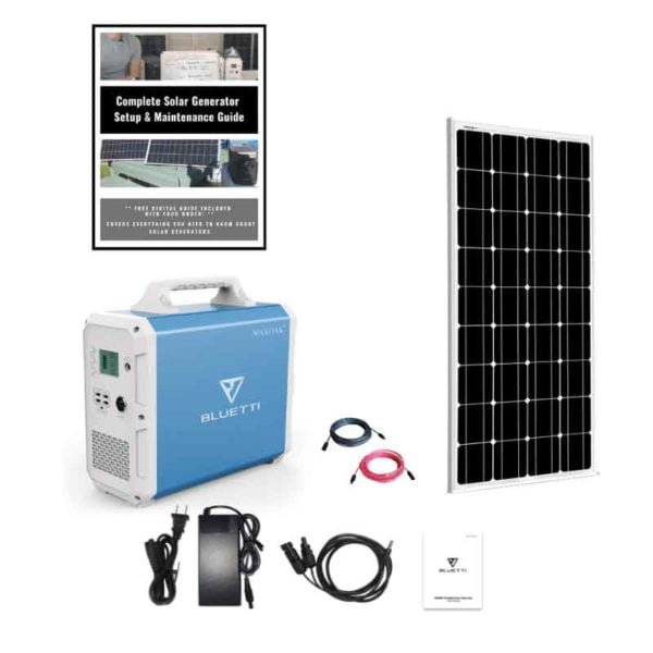 Bluetti EB240 Solar Generator Single Kit 2400Wh Generator