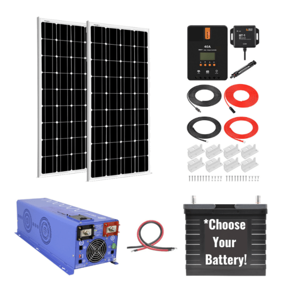 Complete Ultimate Off-Grid Kit