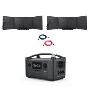 EcoFlow RIVER600 Portable Power Station Bundle