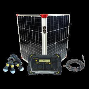 Lion Energy 500 Solar Generator Kit