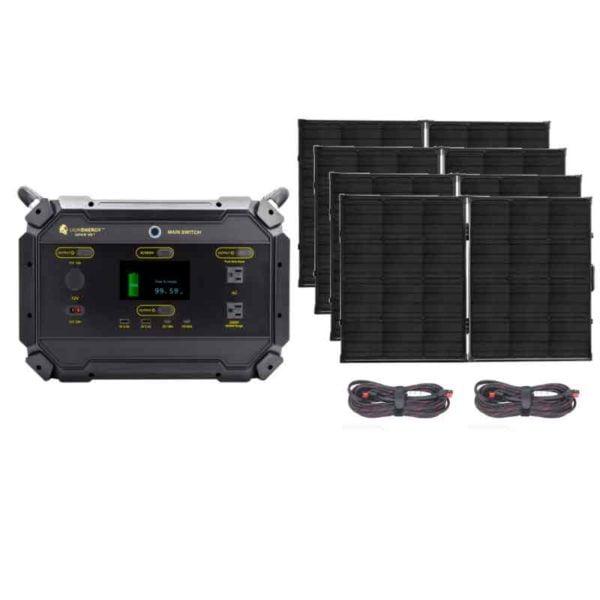 Lion Safari ME 2000 Bronze Solar Generator Kit