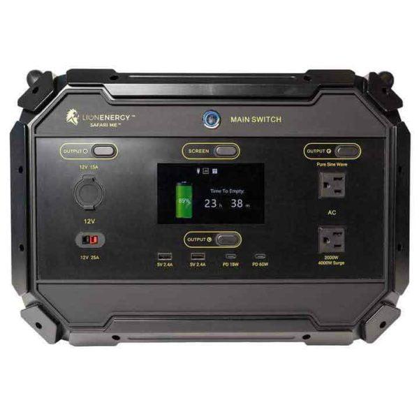 Lion Safari ME 2000 DOUBLE Solar Generator Kit