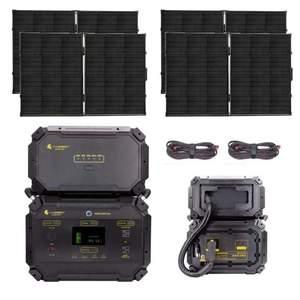 Lion Safari ME GOLD Kit 2970wH Solar Generator