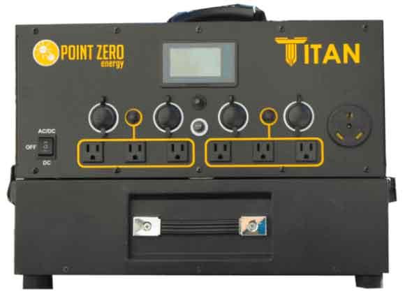 Titan Solar Generator 5 Solar Panels