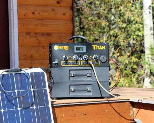 Titan Solar Generator 10 Monocrystalline Solar Panels