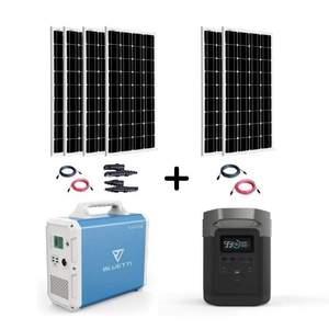Ultimate Emergency Back Up Solar Generator Kit