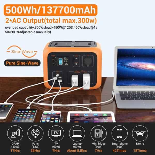 BLUETTI AC50S 500Wh